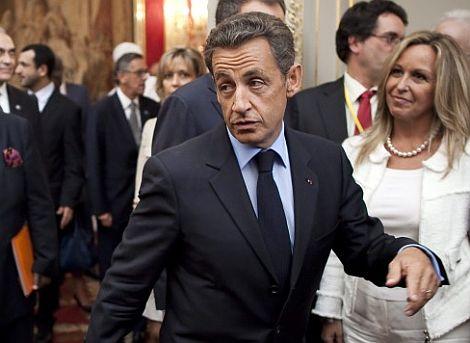 Sarkozy, durante la 'conferencia de Amigos de Libia'. | Efe
