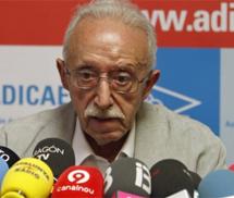 El presidente de Adicae, Manuel Pardos. | Efe