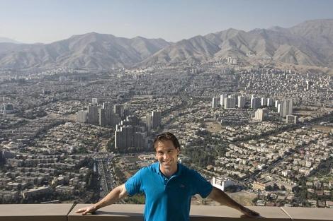El hijo de Oliver Stone, Sean, se encuentra ya en Teherán.   Gtres