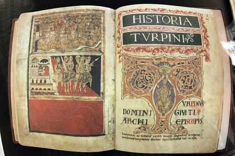 Imagen de una edición facsímil del Códice Calixtino.   Efe