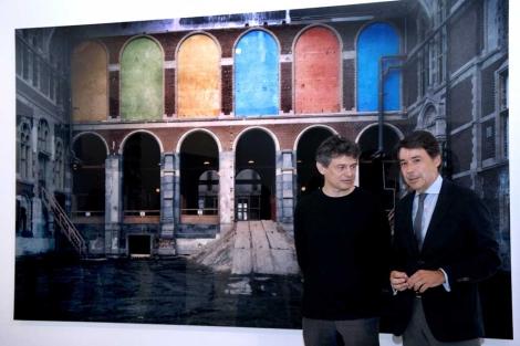 Ballester junto a Ignacio González, vicepresidente regional de Madrid. | ELMUNDO.es