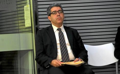 Francesc Homs durante una de sus comparencencias. | Santi Cogolludo
