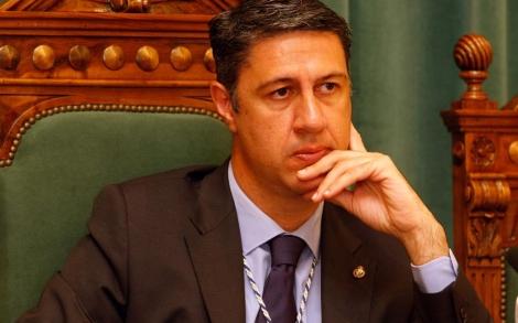 El alcalde de Badalona en su toma de posesión. | Antonio Moreno