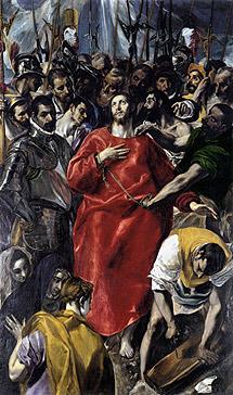 'El expolio' de El Greco.