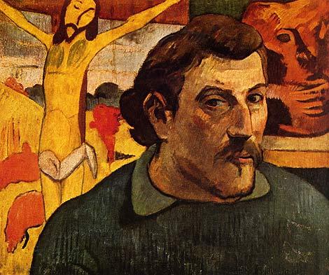 'Autorretrato con Cristo amarillo' de Gaugin.