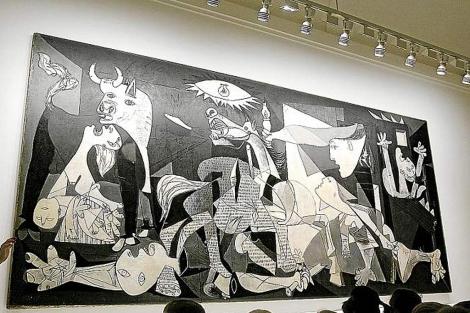 Imagen del 'Guernica' en el Reina Sofía. | Alberto Di Lloli