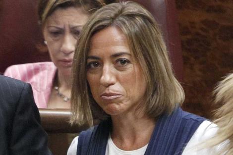 La ministra de Defensa, Carme Chacón.   Efe