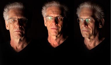Tres retratos de David Cronenberg, esta semana, en Venecia. | AP