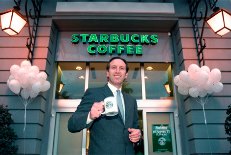 Howard Schultz, CEO de Starbucks.   Jaime Villanueva