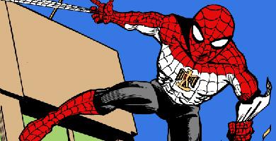 El Spiderman egipcio, según la versión de Carlos Latuff.