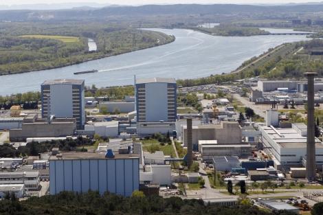 Vista general del complejo nuclear de Marcoule. | Efe