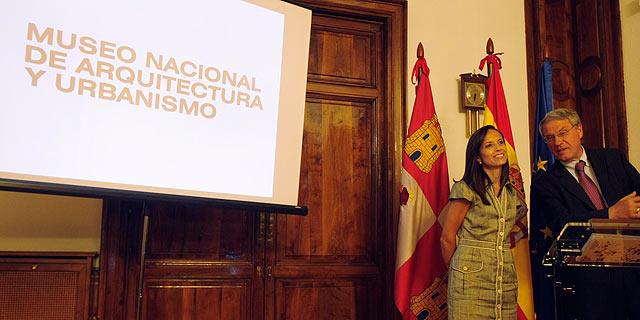 La ministra Corredor durante la presentación del proyecto. | E. Carrascal
