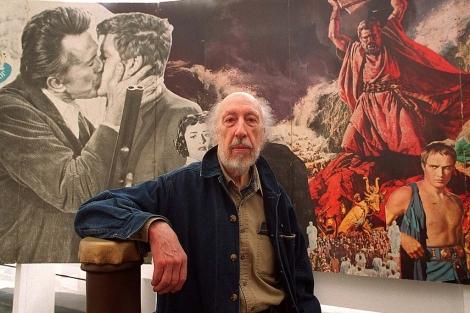 El artista británico, durante una exposición en el MacBa de Barcelona. | D. Umbert