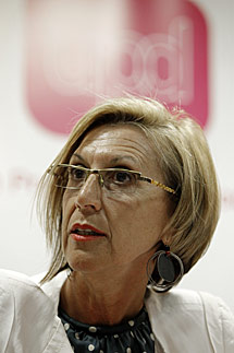 Rosa Díez. | Alberto Di Lolli