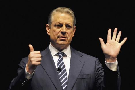 Al Gore durante la presentación de su último libro.   AP