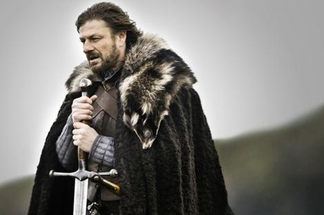 Eddard Stark, interpretado por el actor Sean Bean. (Foto: Canal +)