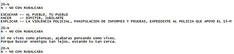 Alusiones a Rubalcaba en el texto.