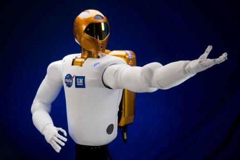 El humanoide Robonaut, instalado en la Estación Espacial. | NASA