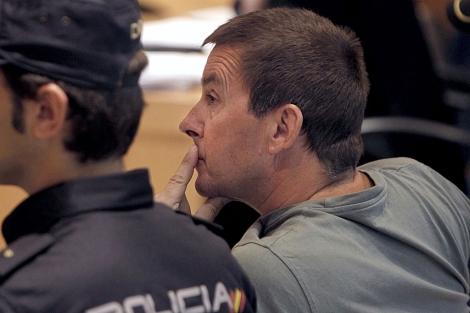 Arnaldo Otegi, en uno de sus juicios por enaltecimiento de terrorismo. | Efe | Pool