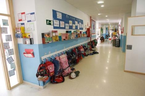 Un colegio de Málaga capital. | ELMUNDO.es