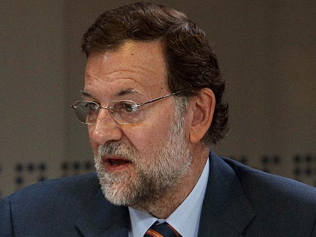 Mariano Rajoy, en un momento de la entrevista. | Juan Carlos Hidalgo/Efe