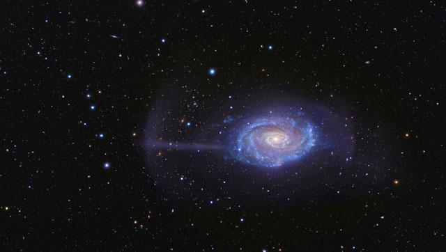 La galaxia Parasol (NGC4651). | R. Jay GaBany