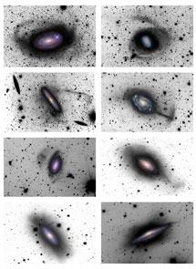 Estructuras halladas en los halos de varias galaxias | D. Martínez-Delgado, R. J. Gabany y K. Crawford