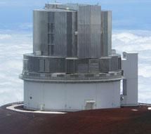 El telescopio Subaru en Hawai. | NAOJ
