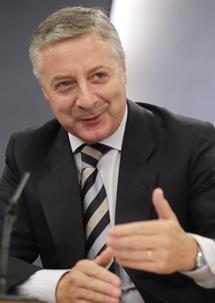 El ministro de Fomento, José Blanco. | Alberto Cuéllar