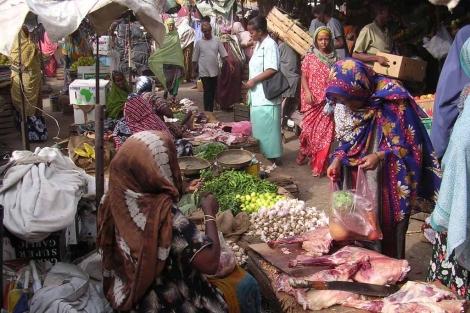Mercado tradicional en Yibuti.| Juan Pablo Cardenal