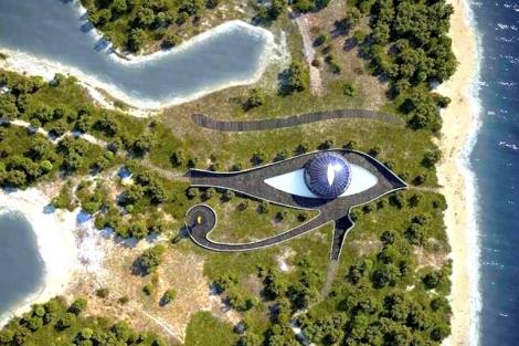 La mansión de Doronin-Campbell tendrá forma de Ojo de Horus. | ELMUNDO.es