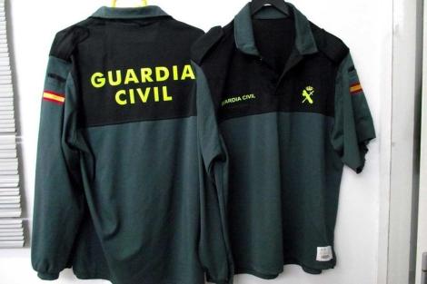 56527ed53e Fotografía facilitada por la Guardia Civil de la moda Benemérita copiada.