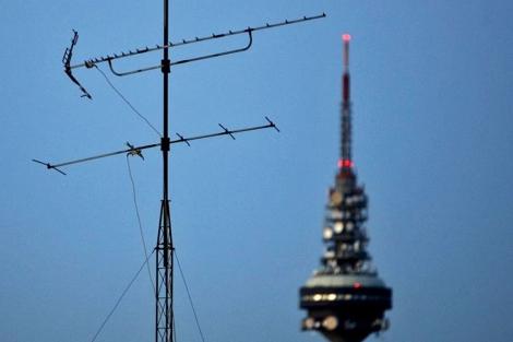 Vista de Torrespaña, sede de RTVE en Madrid. | Alberto di Lolli