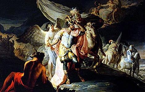 'Aníbal vencedor que por primera vez miró a Italia desde los Alpes', de Goya. | Fundación Selgas-Fagalde