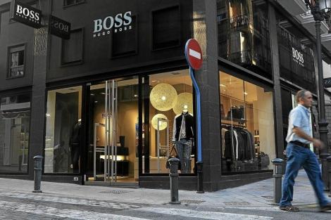 Una tienda de Hugo Boss en Alicante |C.L.