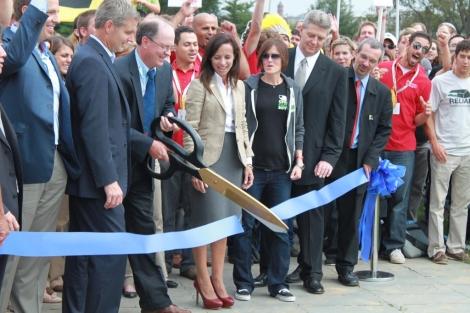 Beatriz Corredor, en Washington, durante la inauguración de Solar Decathlon 2011. | El Mundo