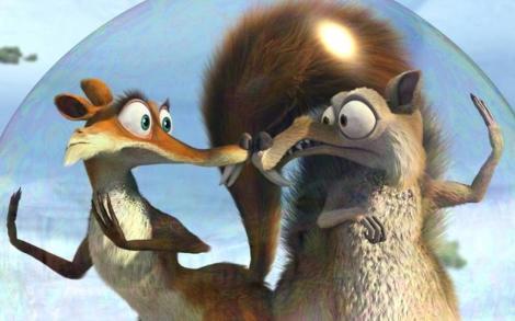 Imagen de 'Ice Age 3'. Su cuarta entrega será uno de los filmes en doblarse en 2012.