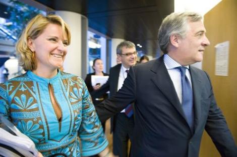 La diputada popular, Rosa Estaràs en el Parlamento europeo   EP