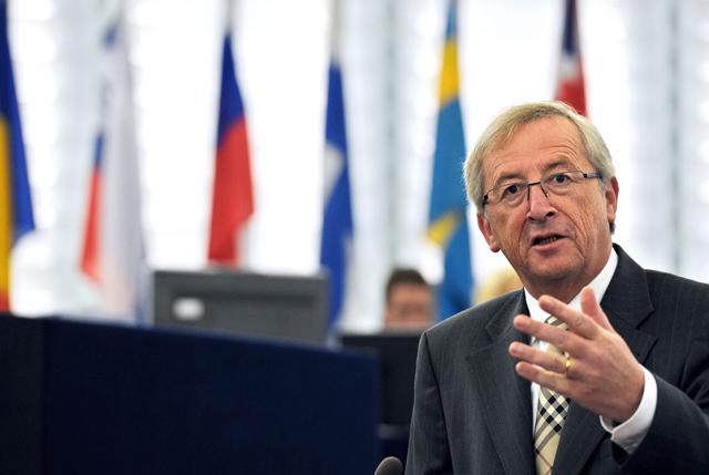 El presidente del Eurogrupo, Jean Claude Juncker. | Afp