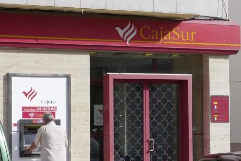 La oficina de BBK-Cajasur en Linares-Baeza. | Manuel Cuevas