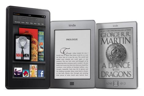 Los nuevos Kindle: Fire, Touch y la versión con teclado.
