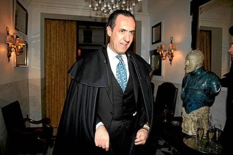 Jaime de Marichalar en una cena privada de Telva y Christian Dior | Diego Sinova