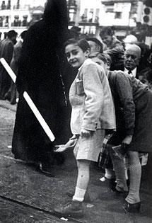 Silvio, en los años 50.