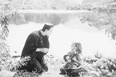 Fotograma de la película 'Frankenstein', dirigida en 1931 por James Whale.