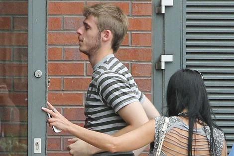 El futbolista español, al poco de llegar a Reino Unido. | Gtres