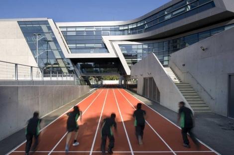 Instalaciones del edificio premiado.  RIBA