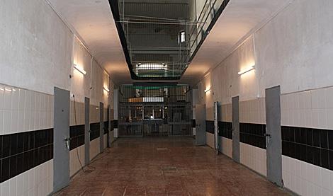 Los pasillos de la antigua prisión. | P. C.
