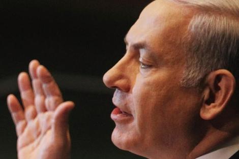 El primer ministro israelí, Benjamin Netanyahu.   Afp