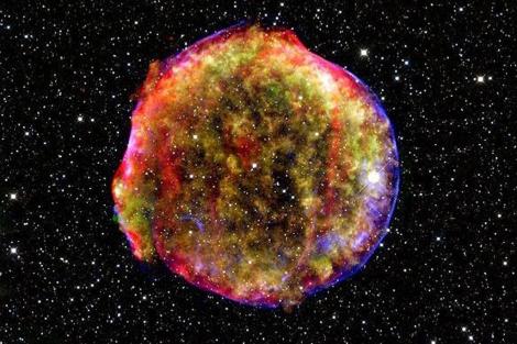 Los restos una supernova. | NASA / AFP
