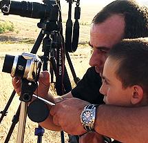 Unai, con su padre. | G.P.